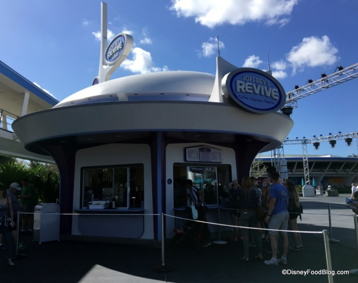 Joffrey's Revive Kiosk in Magic Kingdom's Tomorrowland