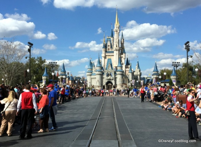 Magic Kingdom Main Street Before Parade