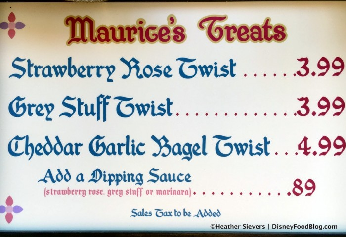 Maurice's Treats Food Menu