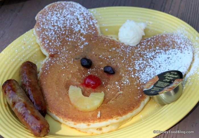 A Classic Relocated -- Mickey Pancake