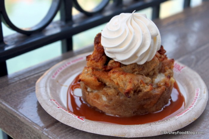 Seasonal Bread Pudding -- Apple and Cream Cheese Pudding