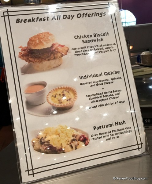 Everything Pop All Day Breakfast Items