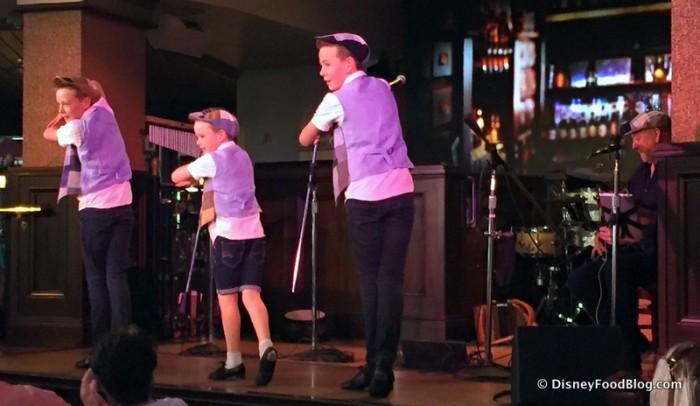 The Byrne Brothers Performing at Raglan Road