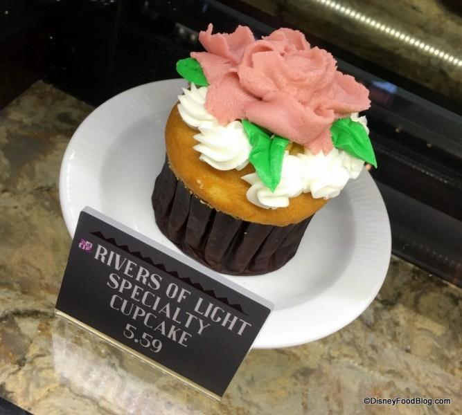 Rivers of Light Cupcake