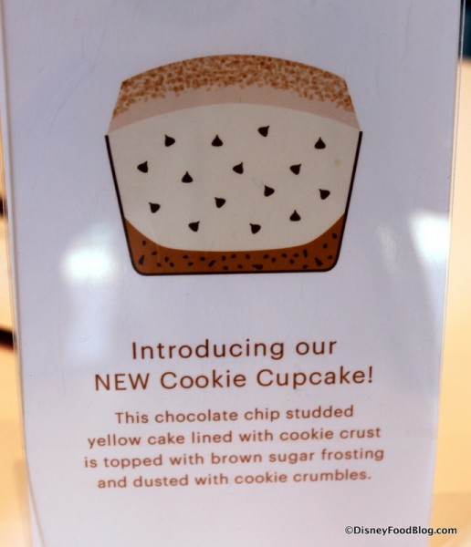 Cookie Cupcake Description