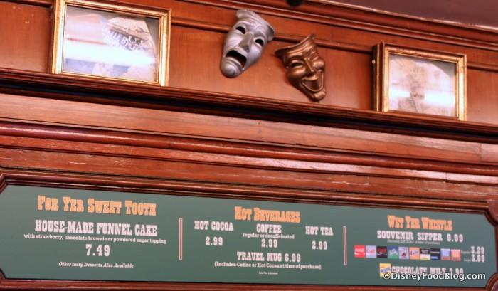 Stage Door Cafe Decor