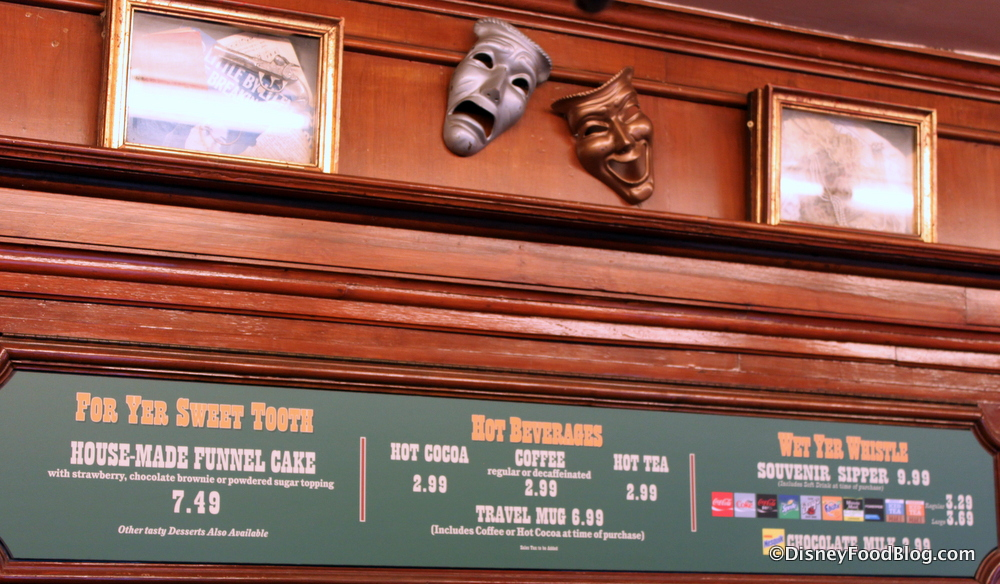 Stage Door Cafe Decor & Review: Stage Door Cafe Classics in Disneylandu0027s Frontierland | the ...