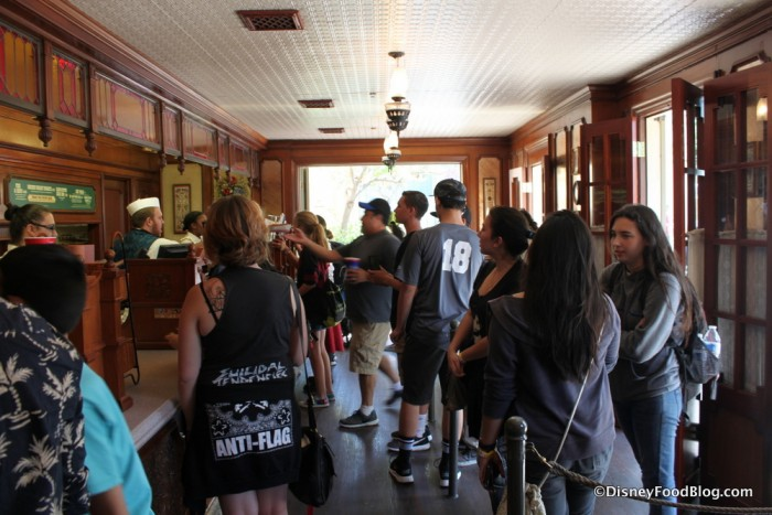 Stage Door Cafe Ordering Area
