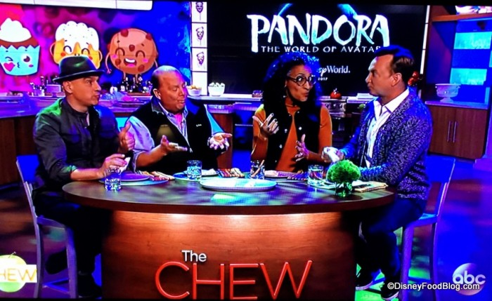 Television Shot of ABC's The Chew