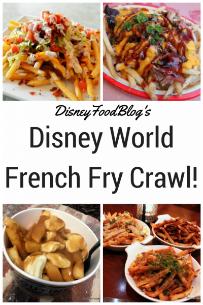 If you love french fries, don't miss out on The Disney World French Fry Crawl!