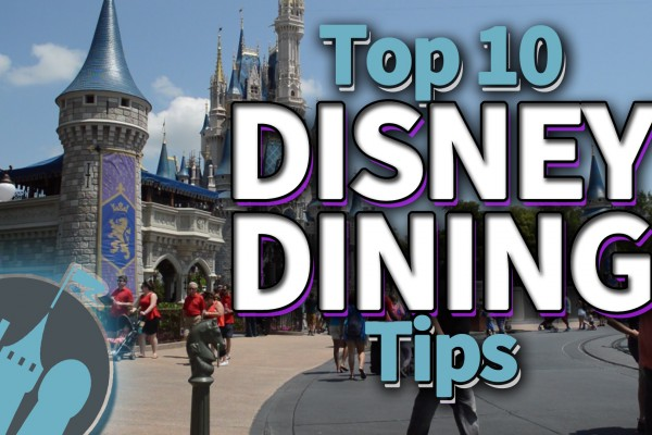 New DFB Video: Our Top 10 Disney Dining Tips!