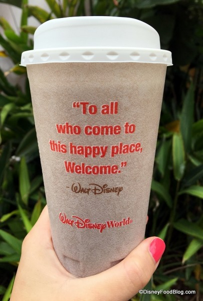 New Hot Drink cups at Disney Parks