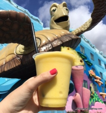 Captain's Pineapple Drink at Art of Animation Resort