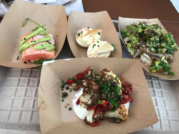 There are a lot of great dishes at the DCA Food and Wine Festival!