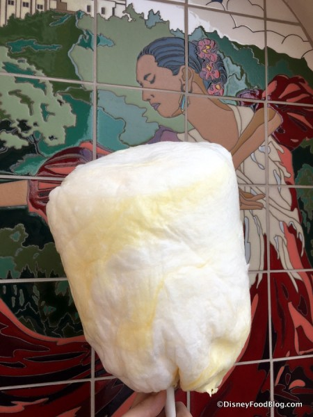 Dole Whip Cotton Candy