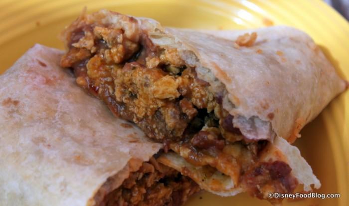 Burrito -- Inside