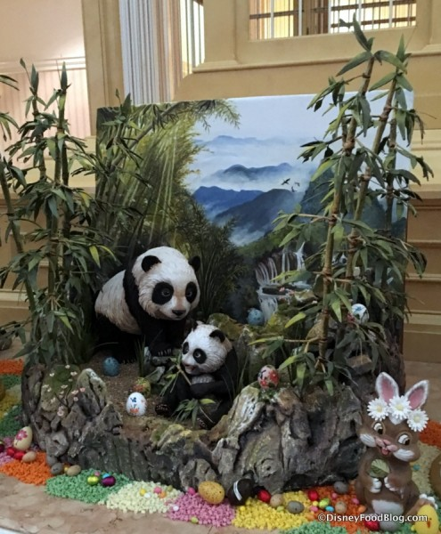Panda Easter Egg Hunt