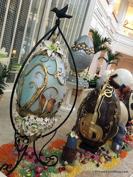 Grand Floridian Easter Egg Display