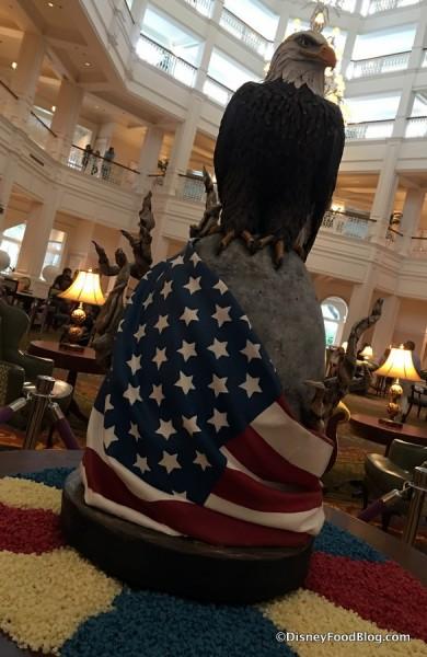 Patriotic Easter Egg