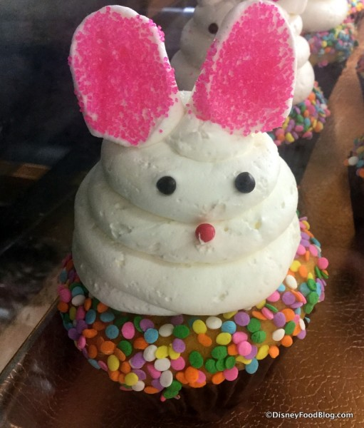 Bunny Cupcake at World Premiere Food Court