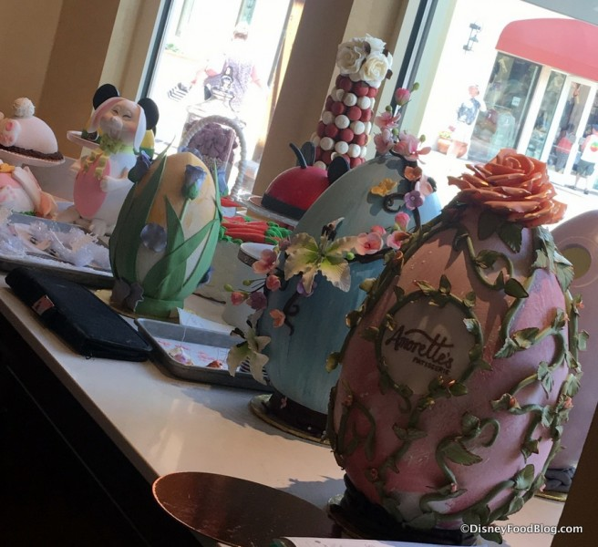 Easter Eggs at Amorette's Patisserie