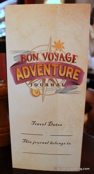 Bon Voyage Adventure Journal
