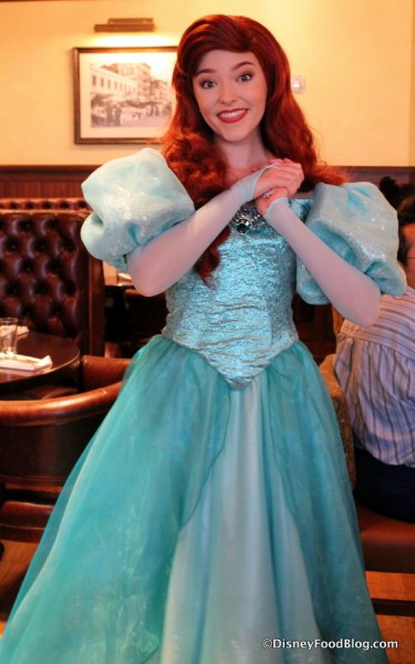 Review new rapunzel bon voyage character breakfast in disney world ariel m4hsunfo
