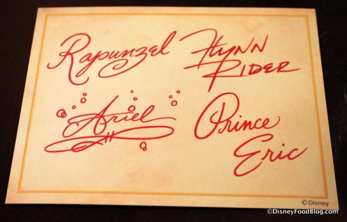 Autograph Card