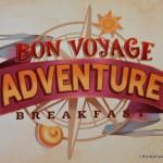 Review: New Rapunzel Bon Voyage Character Breakfast in Disney World