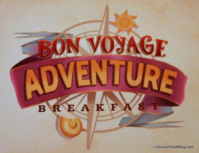 Bob Voyage Adventure Breakfast
