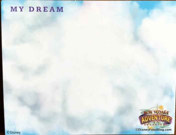 """""""My Dream"""" Card"""