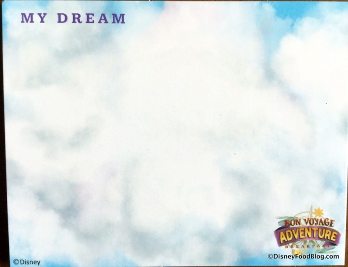 """My Dream"" Card"