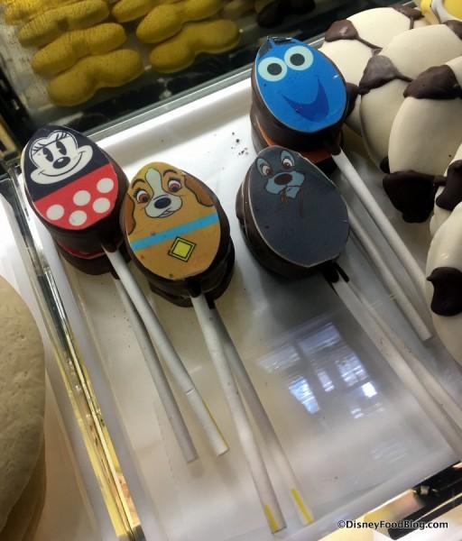 Character Egg Cake Pops
