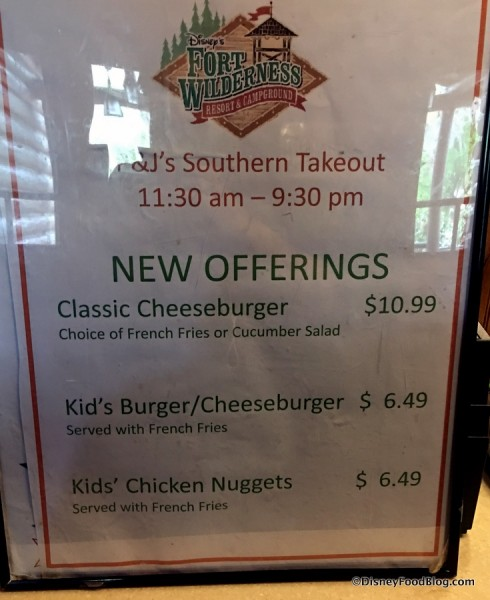 New Offerings at P&J's Southern Takeout