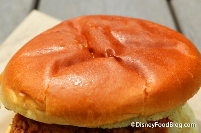 Homecoming Fried Chicken Sandwich
