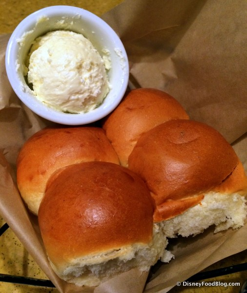 Rolls with Whipped Butter