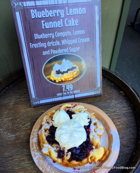Blueberry Lemon Funnel Cake at Hungry Bear Restaurant