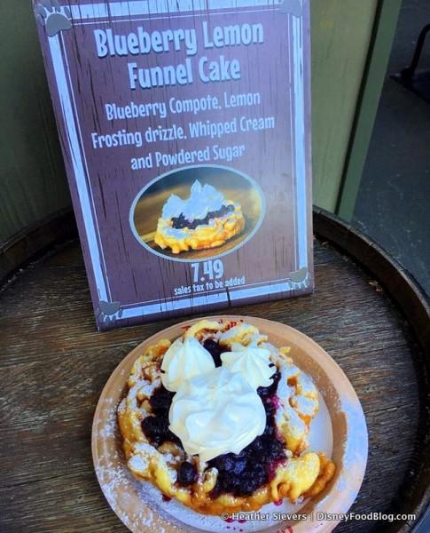 Blueberry Lemon Funnel Cake at Hungry Bear Restaurant