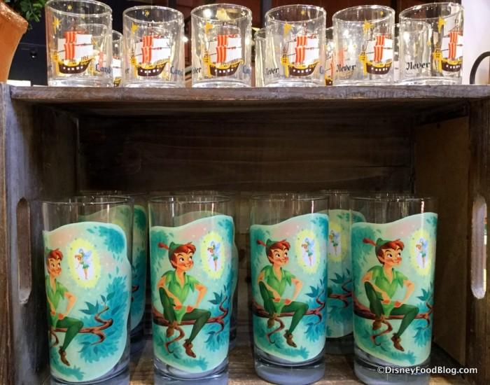 Neverland glassware