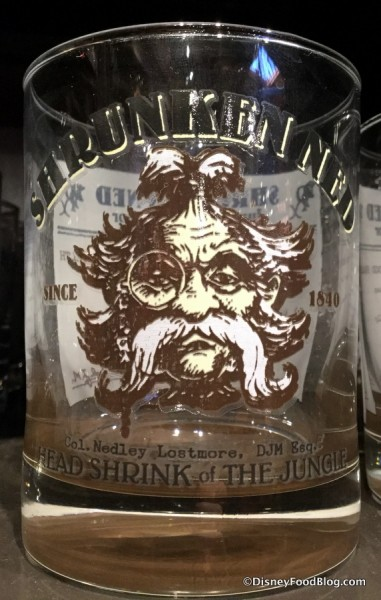 Shrunken Ned glass