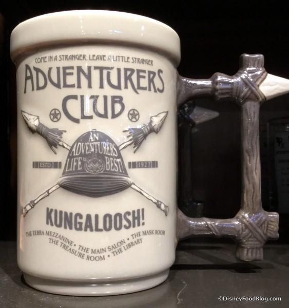 Adventurer's Club Mug