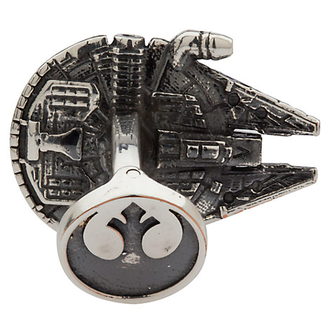Millennium Falcon cufflinks 2