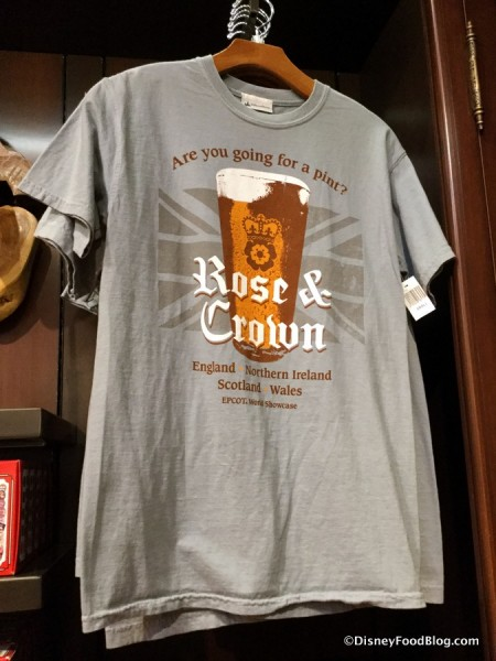 Rose & Crown t-shirt