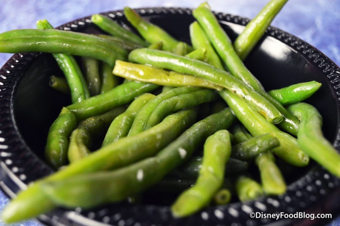 Side of Green Beans -- Up Close