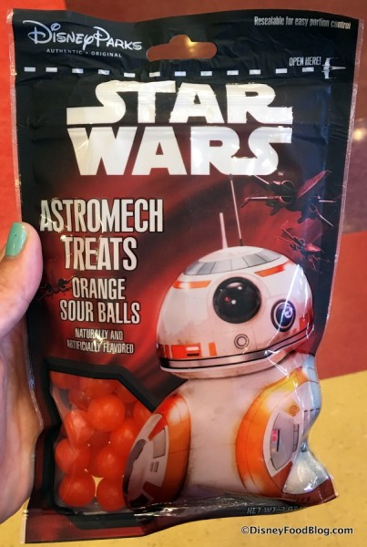 BB-8 Orange Sour Balls
