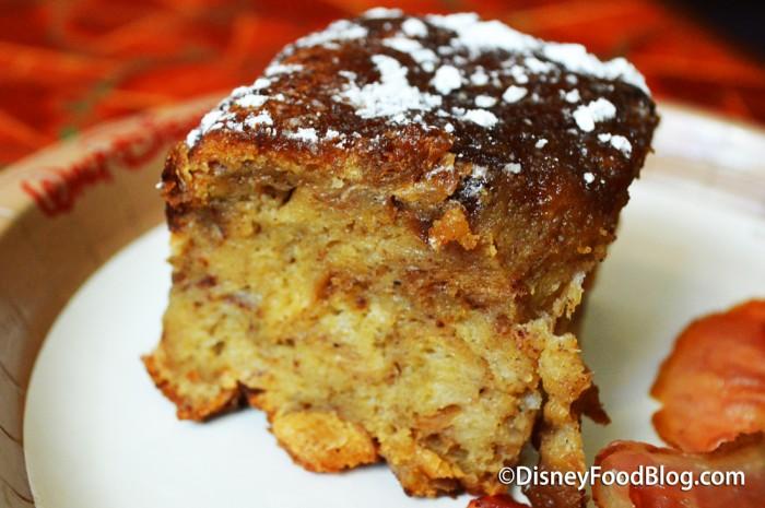 Cinnamon French Toast Bread Pudding at Sunshine Seasons