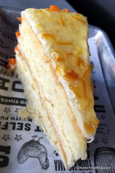 Orange Blossom Honey Cake