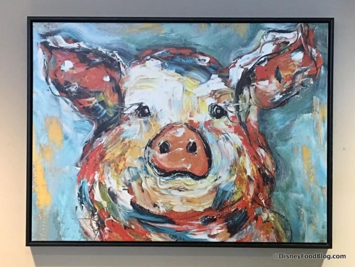 Pig artwork