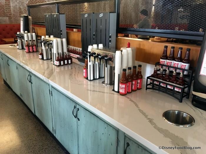 Sauce Bar