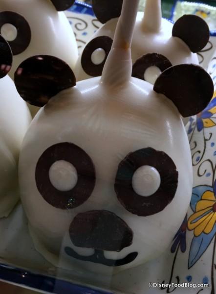 Panda Caramel Apple